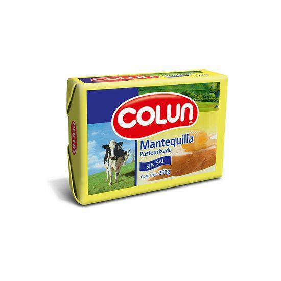 Mantequilla Colun sin Sal 250g