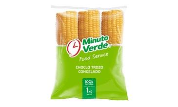 Choclo Trozo Minuto Verde 1k