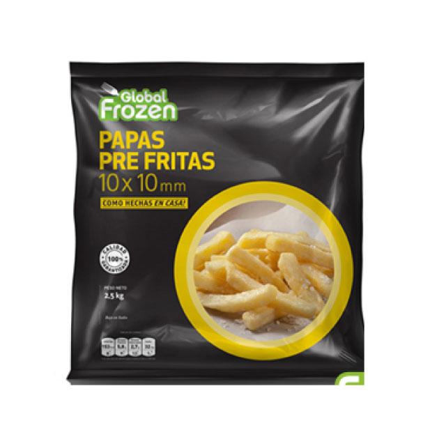 Papa PreFrita 10×10 Global Frozzen 2,5K