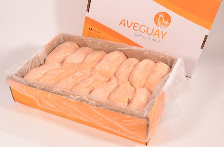 Caja de pechuga de pollo 15k