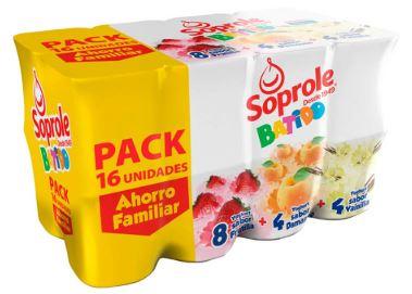Yogurth Pack Yoghito Soprole 16 X