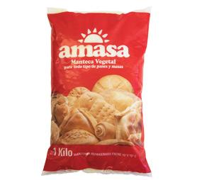 Manteca Vegetal Amasa 1k