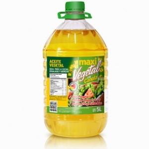Aceite Vegetal 5LT Maxi Fritz / Don Hugo