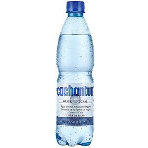 Agua gasificada Cachantún 500 ml