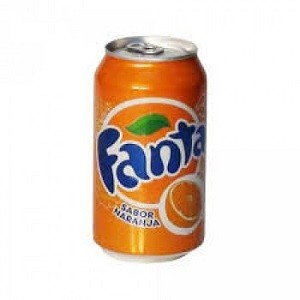 Bebida Fanta naranja 350 ml