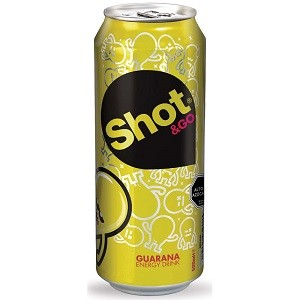 Bebida energética guaraná Shot&Go 500 ml