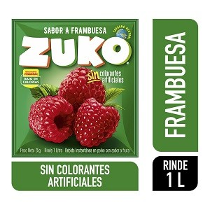 Jugo en polvo Frambuesa Zuko 35g