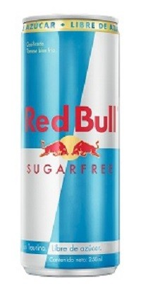 Bebida energética SugarFree RedBull 250 ml
