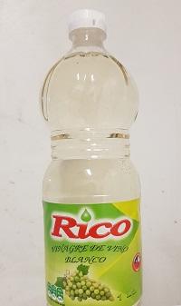 Vinagre vino blanco Rico 1L
